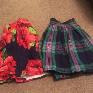 Bundle - 2 A&F skirts